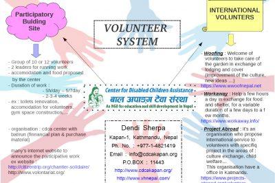 volunteer system