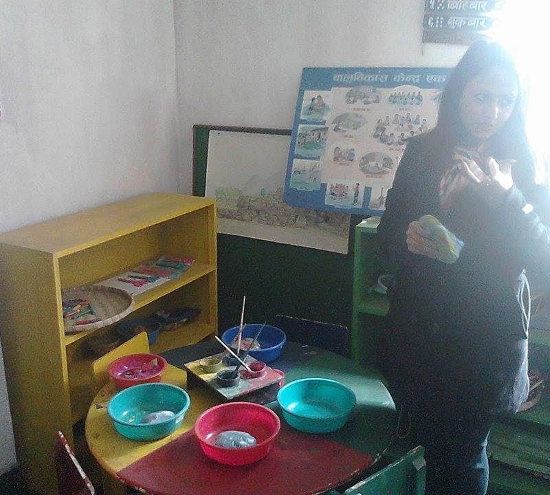 Creative learning area/corner